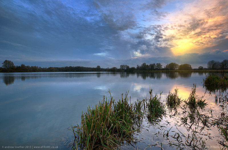 Nene Park at Sunset
