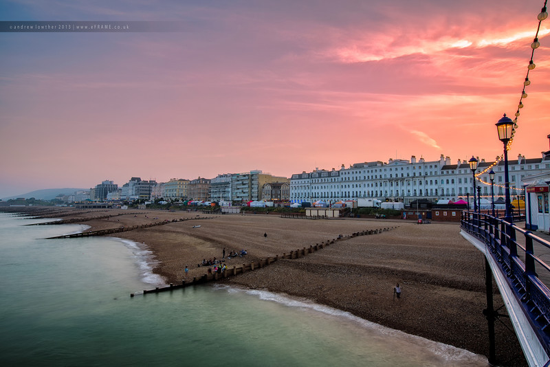 Eastbourne at Dusk