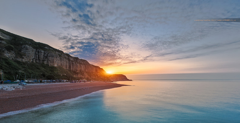 Sunrise Over the Sussex Coast